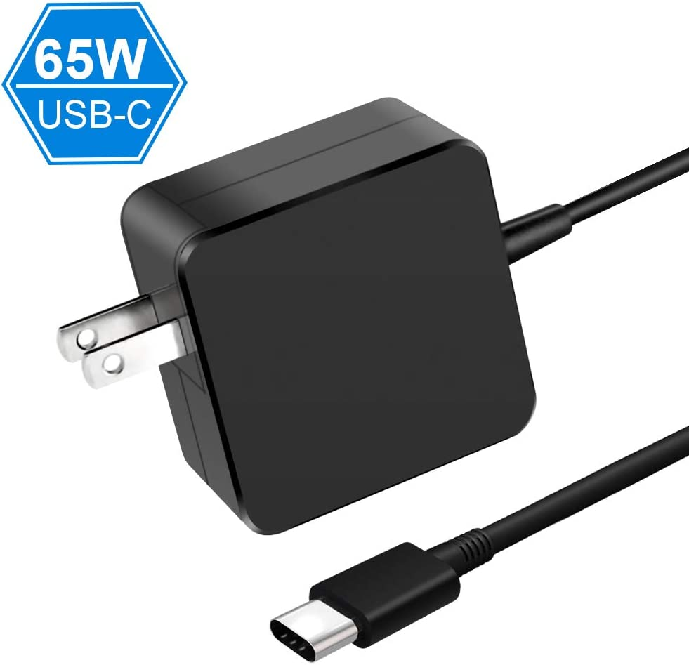 65W/61W USB-C Charger,Type C AC Power Adapter Replacement for MacBook Pro Charger,Lenovo,ASUS,Acer,Dell,HP,Huawei Matebook,Thinkpad,Nintendo Switch,Samsung,Nexus and Other Laptops Pads or Smart Phones