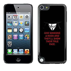 Plastic Shell Protective Case Cover || Apple iPod Touch 5 || Nature Deep Freedom Fight @XPTECH