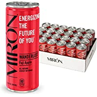 Miron Fuji 24-Pack All Natural Sparkling Energy Beverage 8.4 Fl.Oz. Cans (Various Flavors)