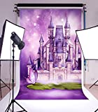 Yeele 5x7ft Fairy Tale Castle Photography Backdrops Gantasy Purple Palace Wonderland Butterfly Fairyland baby Shower Photo Background For Girl Fairy Newborn Kid Birthday Party Photo Shoot Props