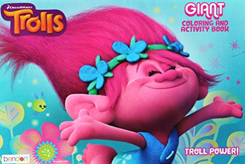 Dreamworks Trolls Giant Coloring Activity