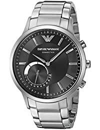 Emporio Armani Connected Hybrid Smartwatch Men's ART3000 Silver