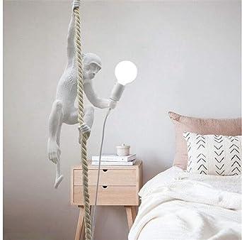 Moderne Singe Lightoray De Animal Suspension Luminaire Corde Simple wNOk0P8Xn