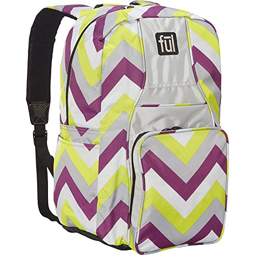 ful-cheveron-backpack-lime-green-and-purple