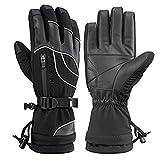 RockBros Winter Ski Gloves Thermal Waterproof Warm Snowboarding Snowmobile Gloves