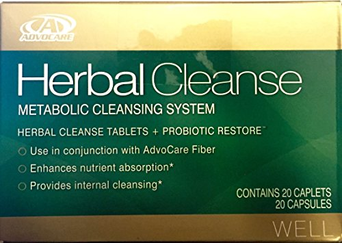 Advocare Herbal Cleanse Metabolic Cleansing System 20 Capsul