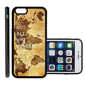 fashion case Brand Not All Who Wander Are Lost Apple iphone 5s Protective Cell Phone Case Cover - Fits Apple iphone 5s