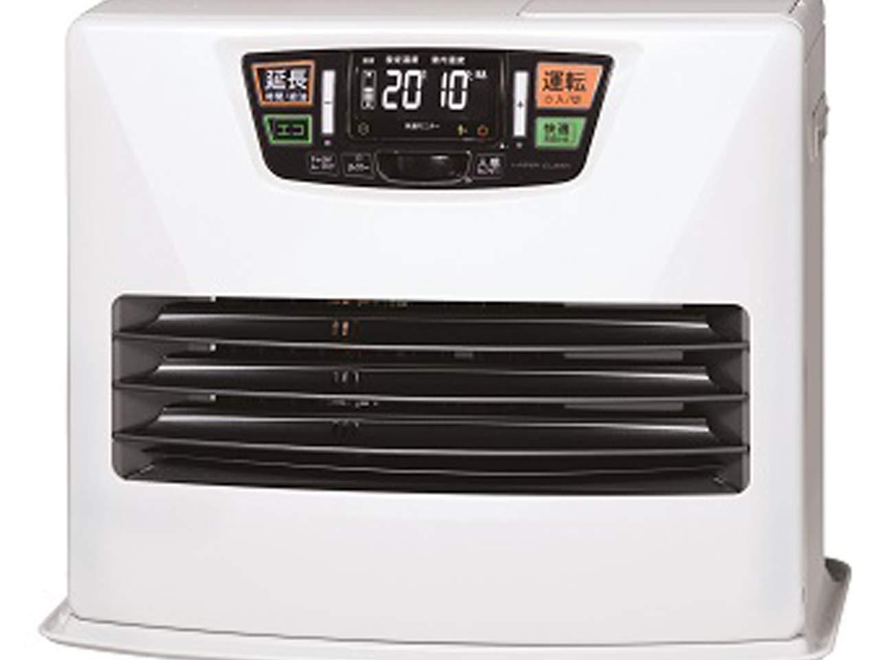 トヨトミ 石油ファンヒーター (木造14畳まで/コンクリート19畳まで) 日本製 シルキーホワイト LC-SL53H(W) B0756YNDHG  最大19畳
