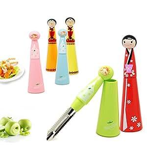 Multifunction Kitchen Tools Vegetable Fruit Peeler Knife (Random Color)