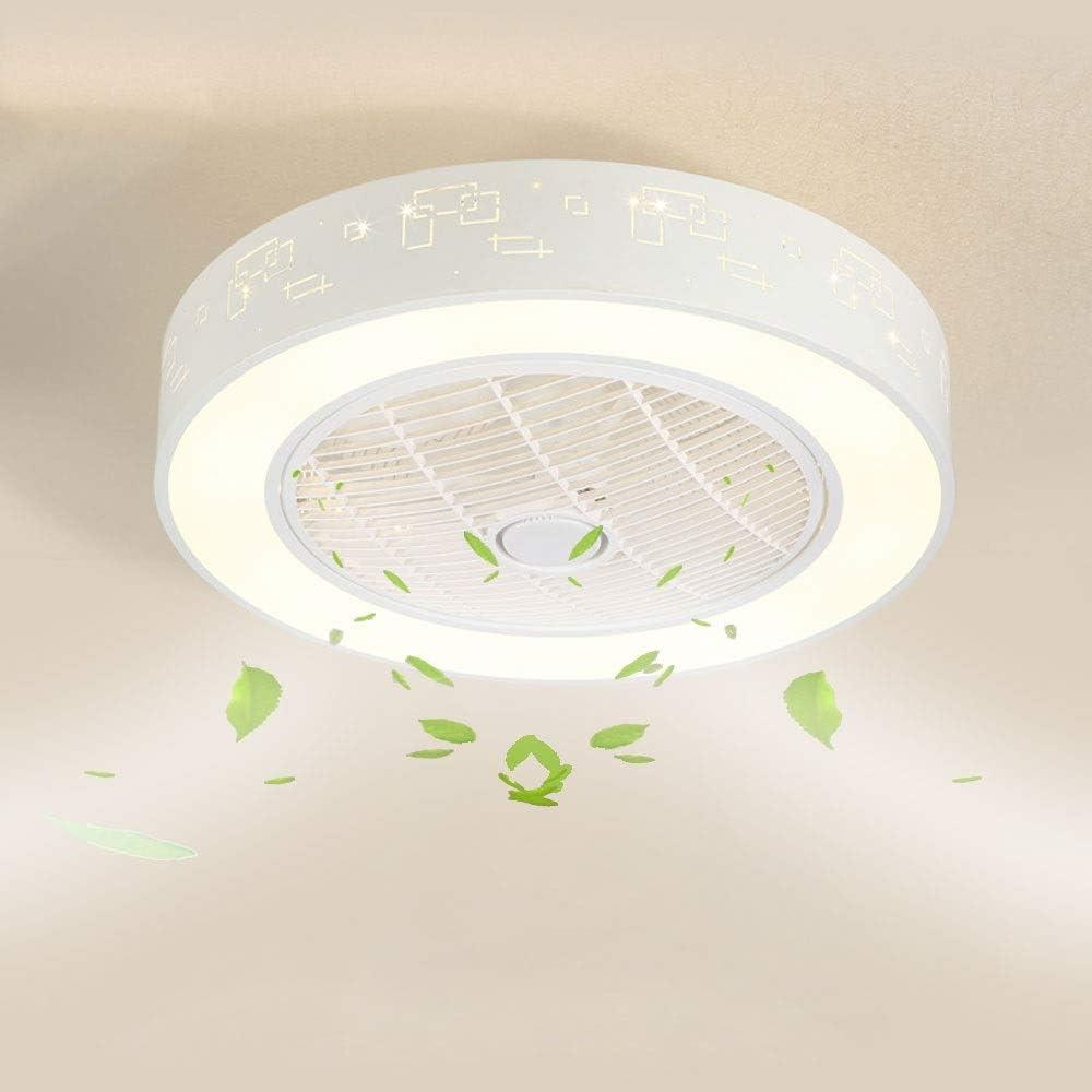 Wandun Lámpara LED de techo Ventiladores para el techo con lámpara ...