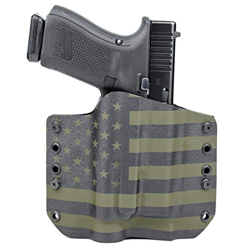 Outlaw Holsters: OWB Kydex Holster for Streamlight TLR-1