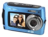 Bell+Howell 2VIEW 18.0MP HD Dual Screen Underwater Digital & Video Camera (Waterproof to 10 ft.), 2.7'', Blue (2VIEW18-BL)