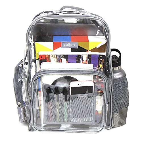 Top 10 recommendation clear backpack heavy duty 2019