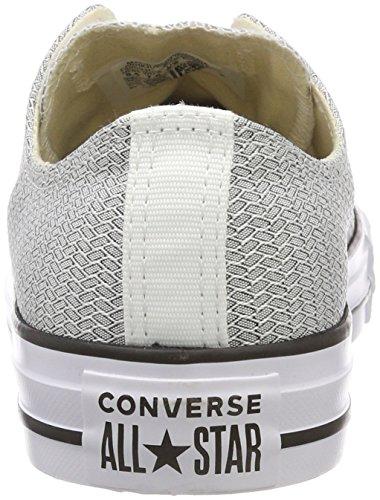 Black Adults' Grey White Trainers Black Ox Converse 113 White White Unisex CTAS gOFA4w