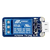 SunFounder Relay Module for Arduino and Raspberry Pi 5V DC Trigger by HIGHLO (HIGH Trigger)