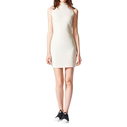 adidas BR9430 Vestido de Tenis, Mujer, Blanco, 28