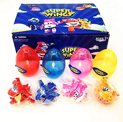 ball baby toy Action Figures Super Wing Transformation 4pcs /Set Super Wings Mini Airplane Robot Egg Animation for Children Gift
