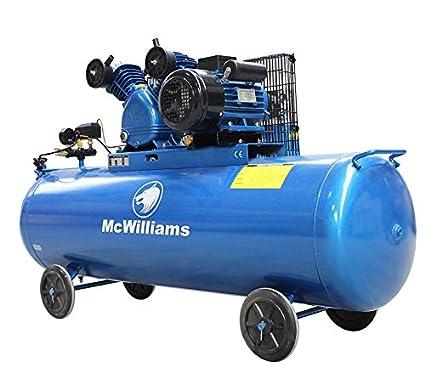 Compresor de aire con depósito de 300 litros y motor de 3 caballos de fuerza