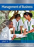 img - for Management of Business CAPE Unit 1 CXC Study Guide: A Caribbean Examinations Council book / textbook / text book