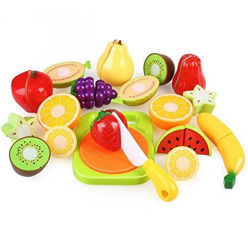 150 opinioni per Peradix Taglio Frutta e Finti Alimenti- Gioco di Ruolo Piccolo Cuoco- Accessori
