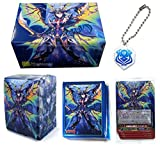 Cardfight!! Vanguard G Event Nightrose Pirate King Card Game Character Promo Set Sleeves, Deck, Storage Box Key Chain Anime Art Collection
