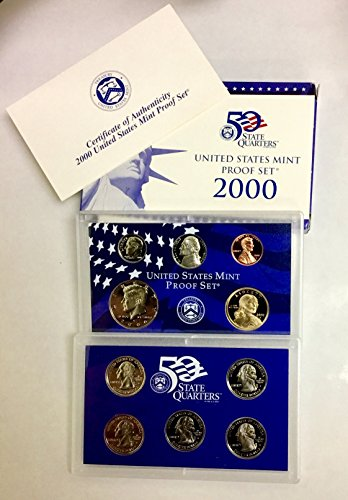 2000 S United States Mint Proof Set Proof ()