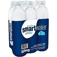 6-Pk. Glaceau Smartwater 1-Liter Bottle