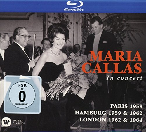 Maria Callas - Maria Callas in Concert: Paris 1958 / Hamburg 1959 & 1962 / London 1962 & 1964 (3PC)