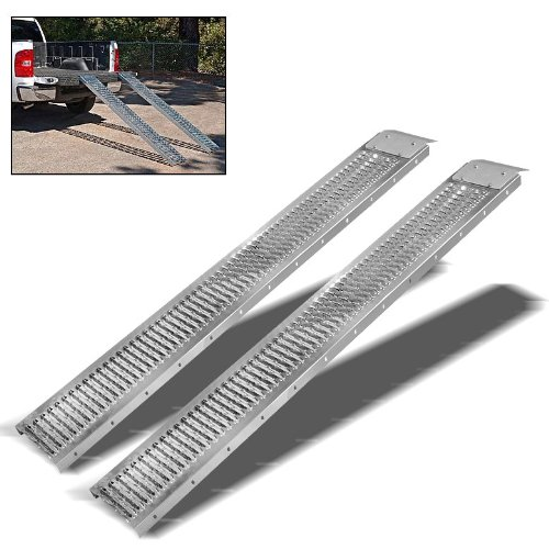 ARKSEN-Set-of-2-Truck-ATV-Load-Ramp-Moving-Haul-Towing-9-x-72-inch-Steel-1000LB