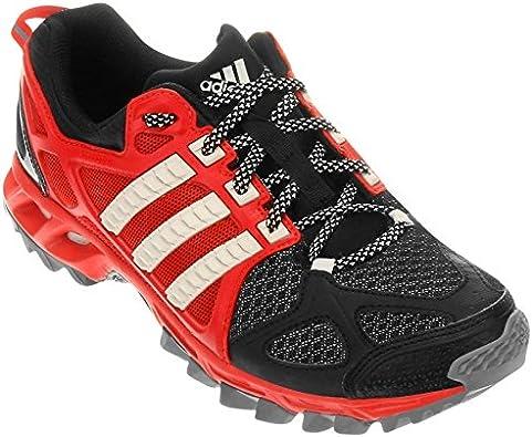 adidas Kanadia TR 6 M - Zapatillas de Running para Hombre, Color Negro/Rojo/Blanco, Talla 42 2/3: Amazon.es: Zapatos y complementos