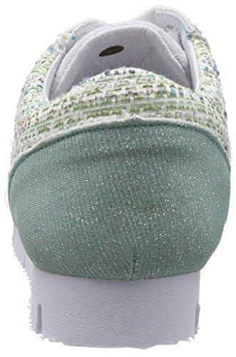 peppermint Sneakers Damen Piazza Grün 850303 qIFRwagx