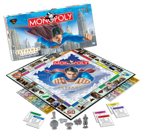 superman monopoly board game - 1