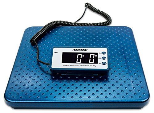 Accuteck 440lb Heavy Duty Digital Metal Industry Shipping Postal Scale ()