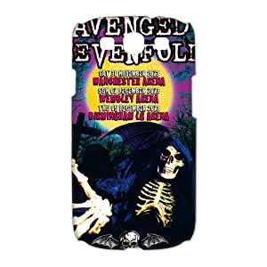 Design Hot Band Avenged Sevenfold A7X Cool M. Shadows Pictures Hard Plastic Protective Durable Shell for Samsung Galaxy S3 I9300 Case-5