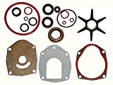 Tungsten Marine Combination Seal Kit and Water Pump Repair Kit for Alpha Gen II compare to 26-816575A3 and 47-43026Q06