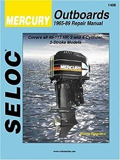 seloc mercury outboards repair manual 1965 89 seloc publications rh amazon com mercury 40 hp efi owners manual mercury 40 hp efi owners manual