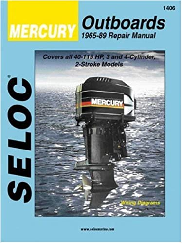 mercury outboards 3 4 cylinders 1965 1989 seloc marine tune up