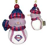 Scottish Christmas Philadelphia Phillies All-Star Light Up Snowmen Ornament Set