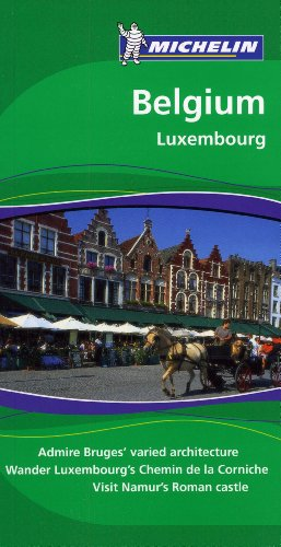 Michelin Green Guide Belgium, 6e (Green Guide/Michelin)