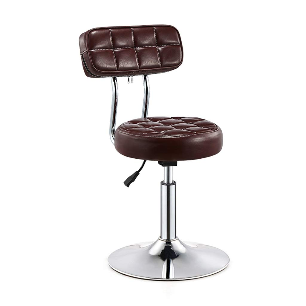 color 2 redating Bar Stool, Adjustable Lifting Beauty Chair Decor Front Desk Cash Register High Stool (color   color 1)