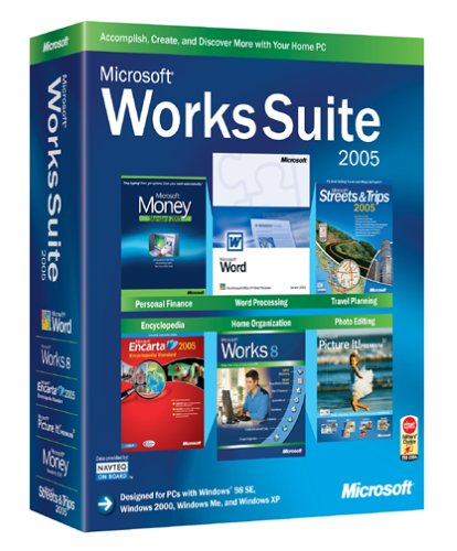 Amazon Microsoft Works Suite 2005 Old Version