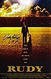 #2: Rudy Ruettiger Signed 'Rudy' 11x17 Movie Poster