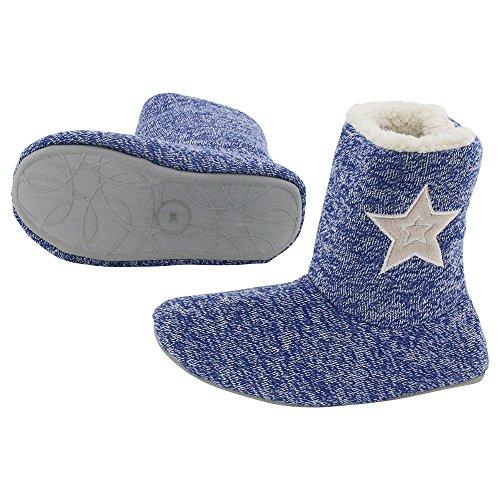 brandsseller - Zapatillas de Material Sintético para hombre, color azul, talla 42 EU