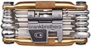 Crankbrothers 10755 Multi Bicycle Tool 17-Function, Gold