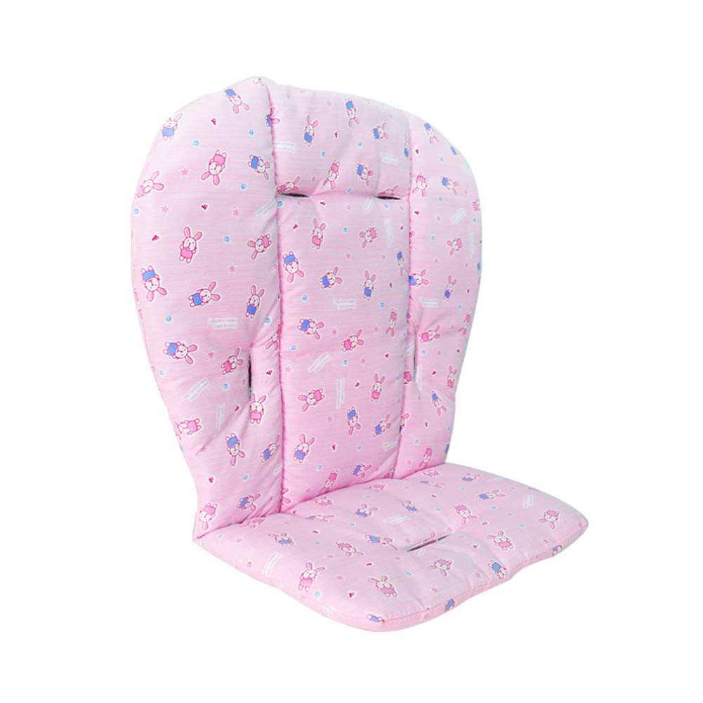 Sungpunet Baby seat Cushion pad Baby Stroller pad high Chair Waterproof Breathable pad pad Protective Cover 1 Piece Set Pink