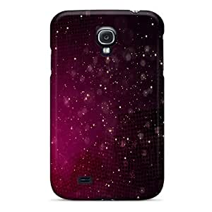 Hot Snap-on Red Space Hard Covers Cases/ Protective Cases For Galaxy S4