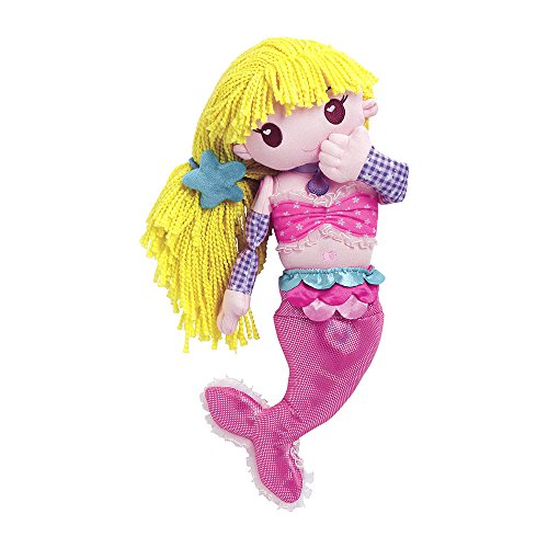 Adora Mixxie Mermaid Plush Play Animal with Interchangeable pieces & accessories for fun creative motor skill building Age 4+