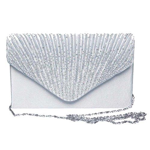 SUMAJU, Borsa a tracolla donna argento Silver
