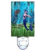 Mermaid Manta Dance Decorative Night Light