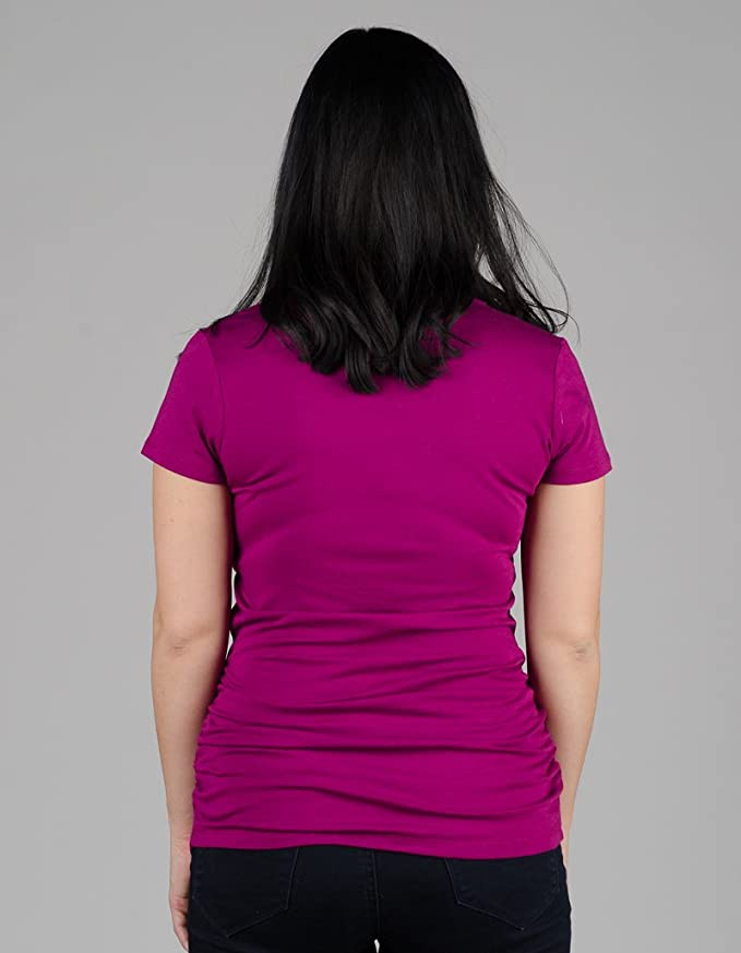 891a991056f Amazon.com: Momzelle Women's Breastfeeding & Maternity Vanessa Nursing T- Shirt: Clothing